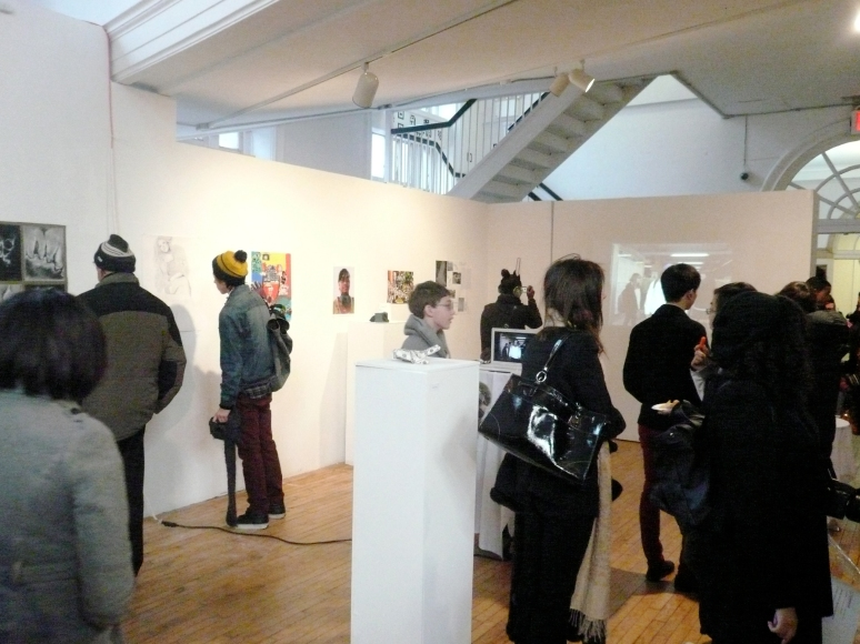 Exhibition Opening, Visionary Studio, Fall 2010, Imaging the Human Body / The Body as Site